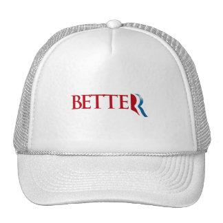 ROMNEY IS BETTER.png Hat