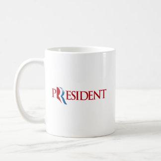 ROMNEY IS OUR PRESIDENT.png Basic White Mug