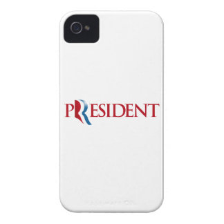 ROMNEY IS OUR PRESIDENT png Blackberry Cases
