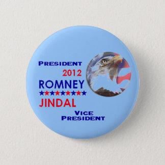 ROMNEY & JINDAL 2012 Button