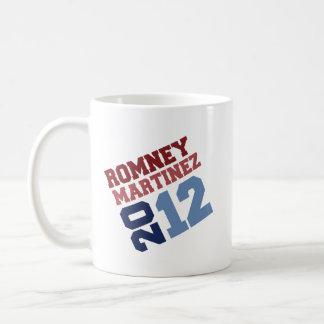 ROMNEY MARTINEZ VP TILT.png Basic White Mug