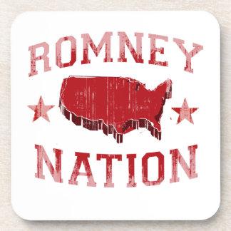 ROMNEY NATION COASTERS