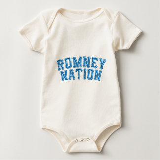 Romney Nation.png Baby Bodysuit