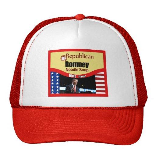 Romney Noodle Soup Trucker Hat