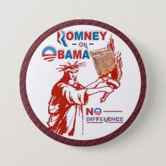 Romney OR Obama 7.5 Cm Round Badge