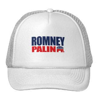 ROMNEY PALIN TICKET 2012.png Trucker Hats