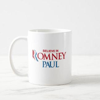 ROMNEY PAUL VP BELIEVE.png Basic White Mug
