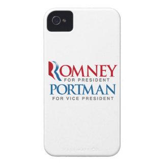 ROMNEY PORTMAN FOR VP LOGO.png Case-Mate iPhone 4 Cases