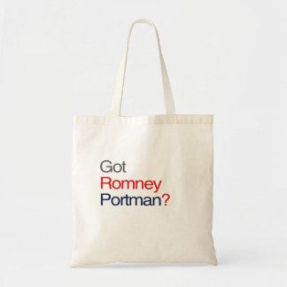 ROMNEY PORTMAN GOT VP.png Budget Tote Bag