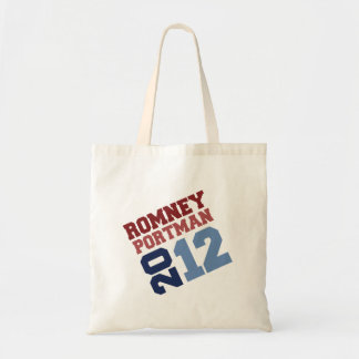 ROMNEY PORTMAN VP TILT.png Budget Tote Bag