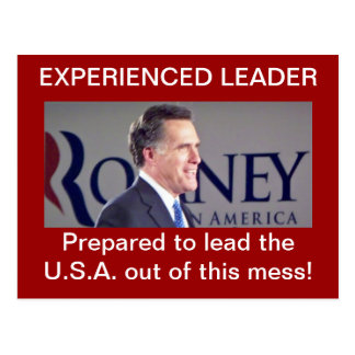 Romney Post Card