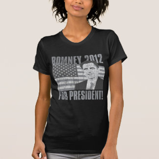Romney president 2012 tee shirt