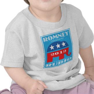 Romney President 2012 Vice President Rubio png Tee Shirts