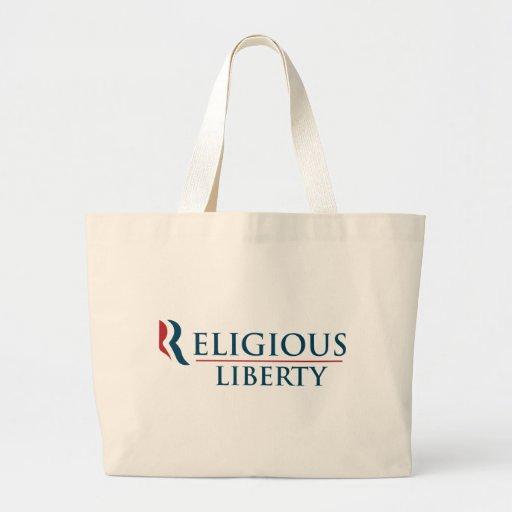 Romney: Religious Liberty Tote Bags