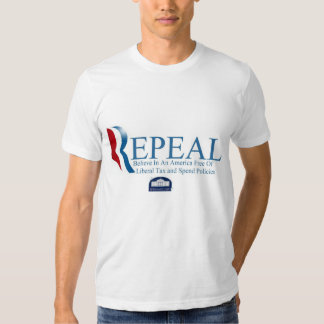 Romney Repeal Obamacare T-Shirt