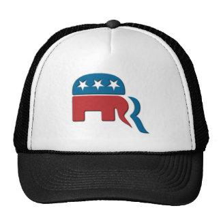 Romney Republican Party Election Logo by Fontico Mesh Hat