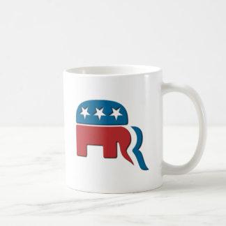 Romney Republican Party Election Logo by Fontico Coffee Mug