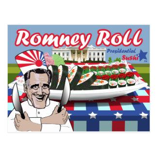 Romney Roll Postcard