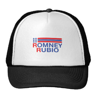 ROMNEY-RUBIO TRUCKER HATS