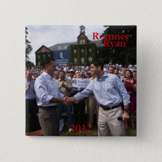 Romney - Ryan 15 Cm Square Badge
