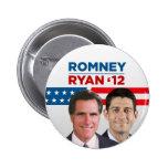Romney Ryan 2012 6 Cm Round Badge