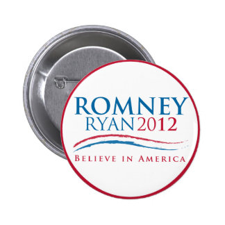 Romney-Ryan 2012 Button
