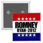Romney Ryan 2012 Buttons