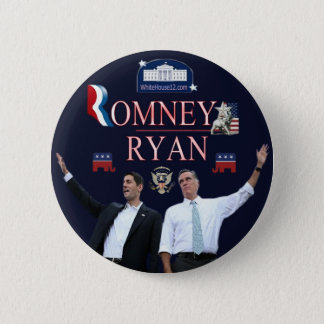 Romney-Ryan 2012 Campaign Button