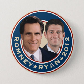 Romney-Ryan 2012 Campaign Button