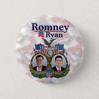 Romney Ryan 2012 Jugate 6 Cm Round Badge