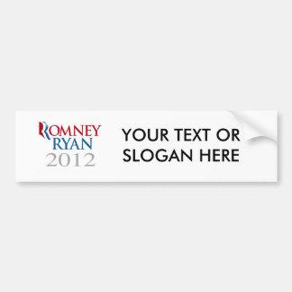 ROMNEY RYAN 2012.png Bumper Sticker
