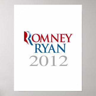 ROMNEY RYAN 2012 png Print