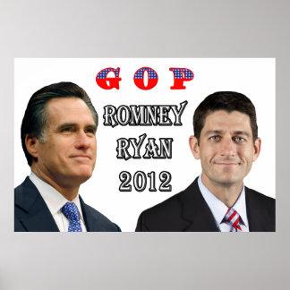 Romney-Ryan 2012 Poster