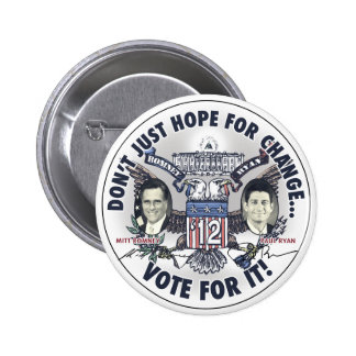 Romney Ryan 2012 Two Headed Eagle Jugate 6 Cm Round Badge