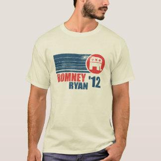 Romney Ryan 2012 Vintage Mens T-Shirt