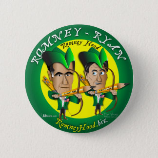 Romney Ryan 2 Archers 6 Cm Round Badge