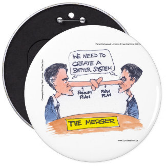 Romney Ryan Pinocchio Merger Funny Gifts Tees Buttons