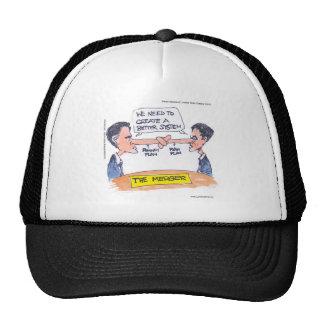 Romney Ryan Pinocchio Merger Funny Gifts & Tees Trucker Hats