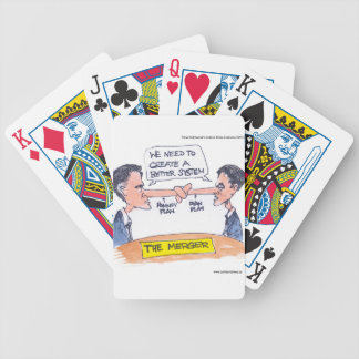 Romney Ryan Pinocchio Merger Funny Gifts & Tees Poker Deck