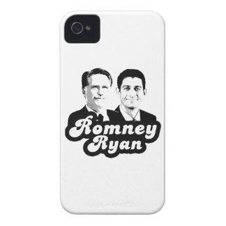 ROMNEY RYAN RETRO.png Case-Mate iPhone 4 Case