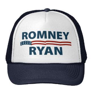 Romney Ryan Stars and Stripes Mesh Hats