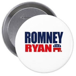 ROMNEY RYAN TICKET 2012.png 10 Cm Round Badge