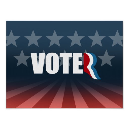 ROMNEY STANDS FOR VOTER -.png Print