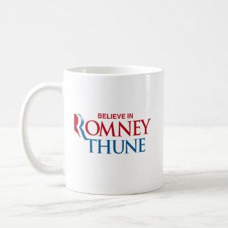 ROMNEY THUNE VP BELIEVE.png Basic White Mug
