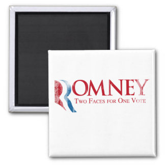 Romney - Two Faces for one Vote png Fridge Magnets