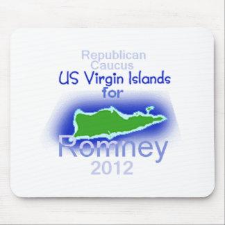 Romney VIRGIN ISLANDS Mouse Pad
