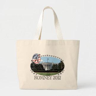 Romney White House 2012 Jumbo Tote Bag