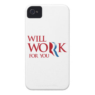 ROMNEY WILL WORK FOR YOU.png iPhone 4 Cover