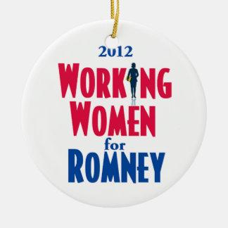 Romney WORKING WOMEN Ornament
