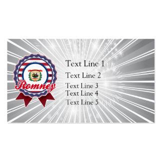 Romney, WV Pack Of Standard Business Cards